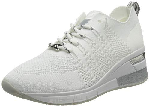 TOM TAILOR Damen 3293801 Sneaker, White, 40 EU