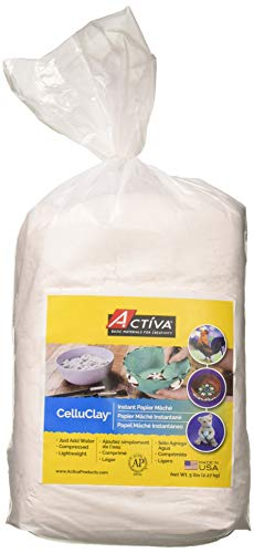 ACTIVA CelluClay 5 Livres Blancs