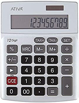 Ativa KC-421 12-Digit Desktop Calculator