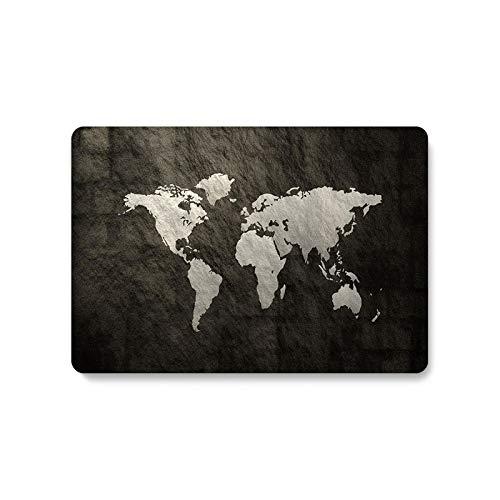 Peach-Girl - Carcasa para Libro Air 13 A1466 A1932 A2179 Mapa del Mundo Claro para Libro Pro 13 Funda 2020 A2251 A2289 A1278 A2159-Map km5-A2159 A1706 A1989