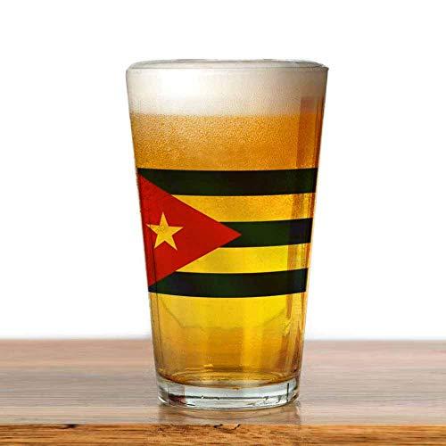 77 xiochgzish Bier Flagge von Kuba Pint Glas, 17 Unze. Trinkglas