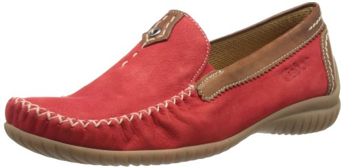 Gabor Shoes Comfort 6609048, Damen Mokassins, Rot (fragola/copper), EU 39 (UK 6) (US 8.5)