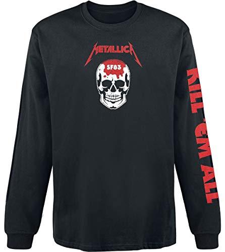 Metallica Kill 'Em All - Skull Langarmshirt schwarz M