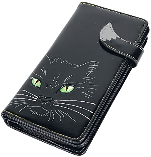 Nemesis Now Bolso Lucky Cat 19cm Negro, PU, 18,5cm