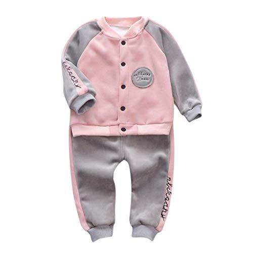 Geilisungren Ropa Bebe Niño Otoño Invierno Recien Nacido Bebé Niña Sudaderas Manga Larga Camisetas Blusas + Pantalones Largos Conjuntos de Ropa