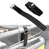 ALAVENTE Durable Top Tie Down Straps Sunrider 21' x 1.5' Adjustable Tie Downs Straps Secure Fasteners for Jeep Wrangler JK JKU YJ TJ JL JLU Unlimited & Sports