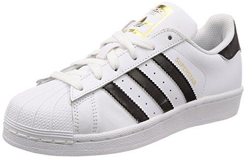 adidas Men's Superstar Fitness Shoes, White (Blanco 000), 5.5 UK