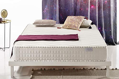 COSMOS Ozone | Sleep Easy Breathable Memory Foam Mattress | 5ft King Size 150x200cm | Innovative Design Ergonomic Multi-Zone Support System | Zero Motion Transfer | Certified 10 Year Warranty