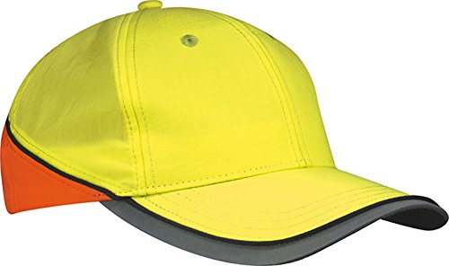 Neon-Reflex-Cap | neon-yellow/neon-orange | one size im digatex-package