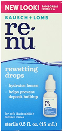 Bausch & Lomb ReNu Rewetting Drops.5 Fluid Ounces
