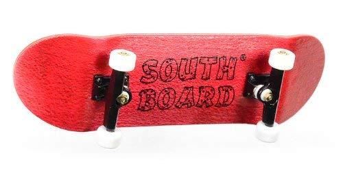 SOUTHBOARDS Komplett Fingerskateboard RT/SWZ/WS Handmade Wood Fingerboard Echtholz
