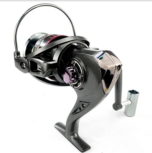 XUJIEI Compatible con 5.2:1 Reel de Pesca 1000-7000 Serie Spinning Reel 1 2kg MAX.Arrastre los Tackles de Pesca de Carpa (Spool Capacity : 6000 Series)