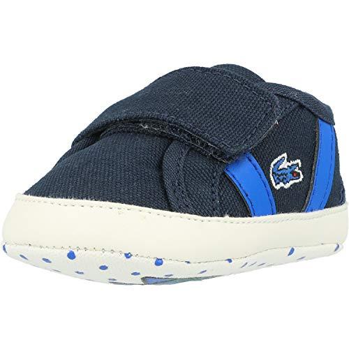 Lacoste Sideline Crib 120 1 Zapatillas Bebé Azul Marino/Azul/Verde-Baby 4