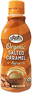 Sprouts Organic Salted Caramel Syrup Sauce 15.8oz
