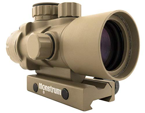 Monstrum Tactical S330P – The Ultra-Compact 3x Prism Shotgun Scope!