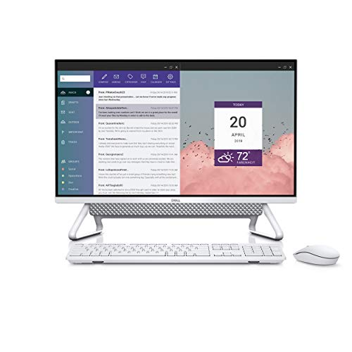 Dell Inspiron 7700 27-inch FHD Anti-Glare Narrow Border Infinity NTCH All-In-One Desktop (Silver) Intel Core i7-1165G7, 8 GB RAM, 512GB SSD + 1TB HDD, Windows 10 Home