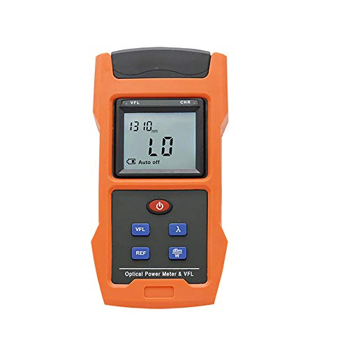 Optical Power Meter Combined with 10mw (8-10km) Visual Fault Locator Function, Fiber...