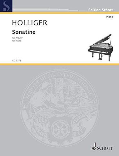 Sonatine: Klavier. (Edition Schott)