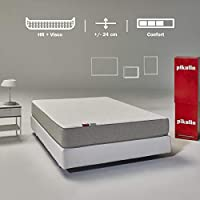 Pikolin Leah, colchón viscoelástico y espuma HR gama alta, 90x190, firmeza alta, confort visco, calidad máxima, protección higiénica total