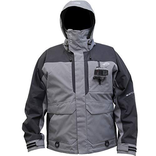 AFTCO HYDRONAUT Heavy-Duty Waterproof Jacket Gray