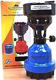 CAMPINGLAND – Hornillo de camping – Encendedor de carbón a gas para cachimba y barbacoa – Compatible con cartucho 190 g – Fabricado en Alemania