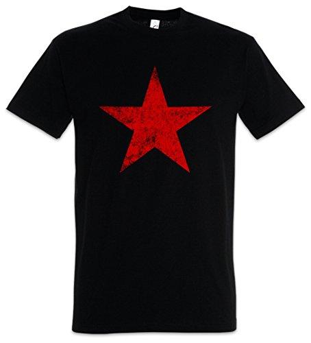 RED Star T-Shirt - Socialism Communism Soviet Union UDSSR CCCP Russia Putin Kuba Castro Che Guevara
