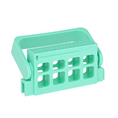 zroven Bloque de medición endodoncia dental autoclavable