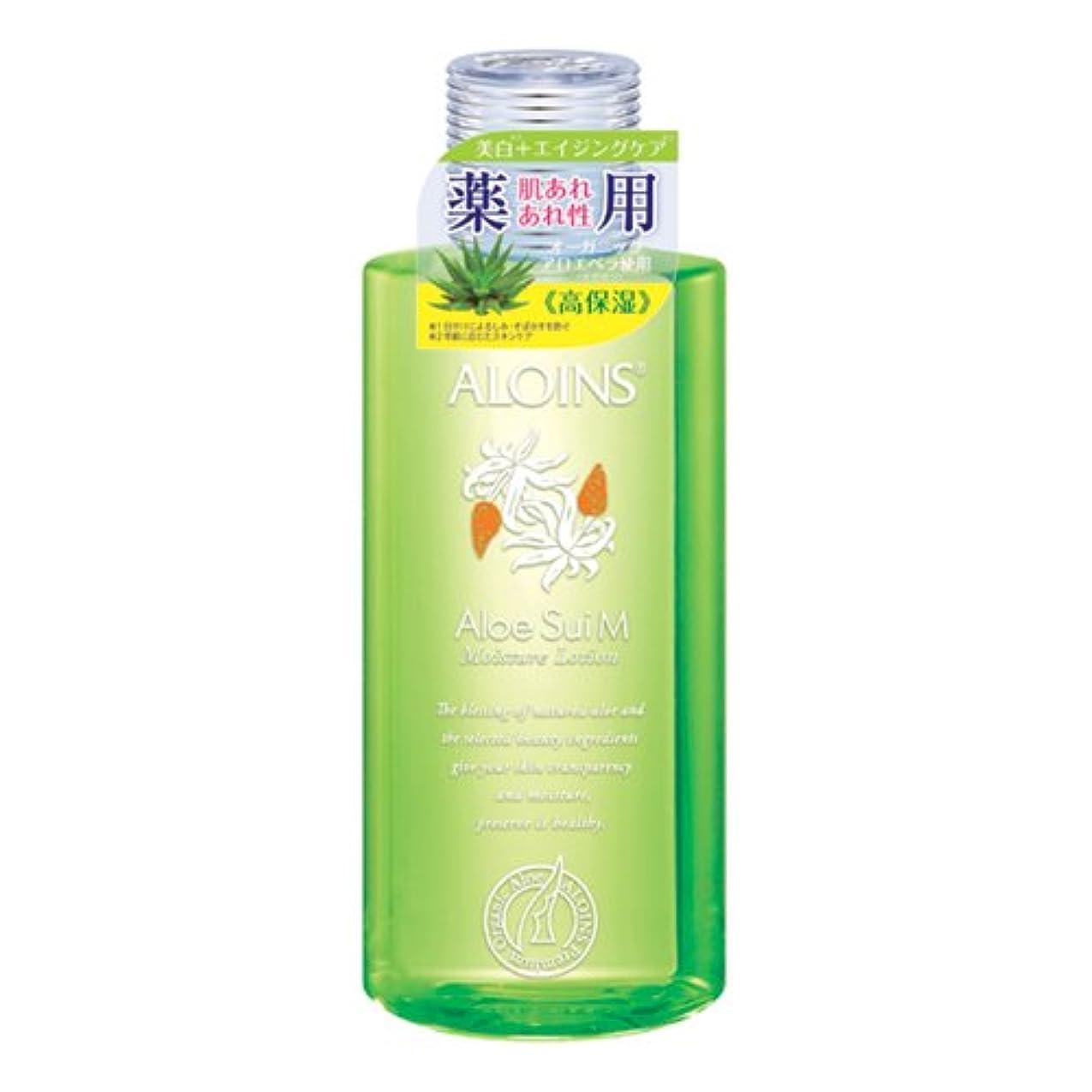 淡い変換する高潔なアロインス 薬用アロエ水 モイストローション 200ml