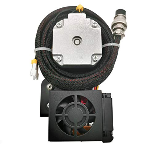 Aibecy 1,75 mm Filament Extruder Drive Feeder Kit Ersatz Upgrade mit 0,4 mm Düse Druckkopf Motor Unterstützung TPU Filament Printing für Creality CR-10 CR-10S Anet E12 und andere i3 3D-Drucker, 12 V