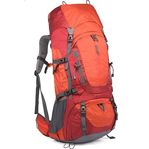 M STAR Wear-Resistant Outdoor Travel Bag Hiking Sports Mountaineering Bag Shoulder Leisure Backpack,orange