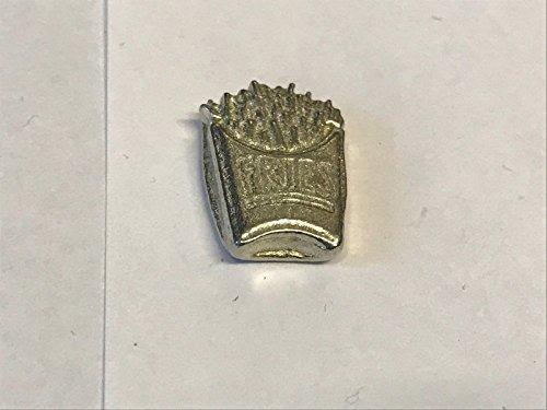 Fries TG165 fastfood frietjes gemaakt van Solid Fine Engels Tinnen Koelkast/bureau Magneet memo magneet fancy gepost door ons geschenken voor alle 2016 van DERBYSHIRE UK