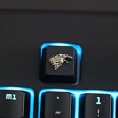 Fits Most Mechanical Gaming Keyboards with Keycap Puller Mugen Custom Gray Poker 4pc Keycaps Set for Cherry MX Switches