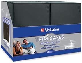 VERBATIM CD & DVD SLIM VIDEO CASES 50PK / 95094 /