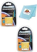 TWO 2X LB-060 Batteries for Kodak PIXPRO AZ522, AZ521, AZ501, AZ421, AZ362 AZ361