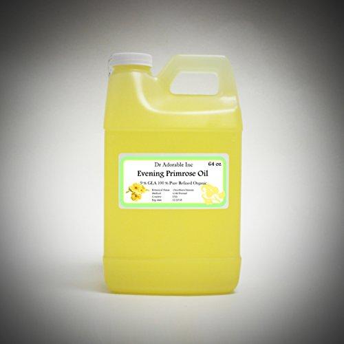 Evening Primrose Oil 9% GLA Health Natural Care 64 Oz / 2 Quarts