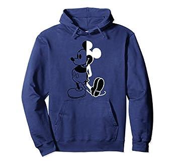 Disney Mickey Mouse Split Pullover Hoodie