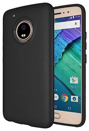 Moto G5 Plus Case, Diztronic Full Matte Slim-Fit Flexible TPU Case for Motorola Moto G5 Plus (5th Generation, 2017) - (Full Matte Black)