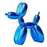 LOSAYM Estatuas Decorativas Figuritas Decorativas Ornamentos Metálicos Azules...