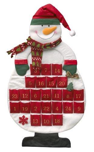 My Home Calendario de Adviento con diseño de muñeco de