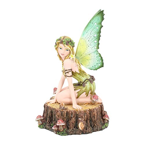 Nemesis Now Fira-Figura Decorativa (31 cm), Color Amarillo, Size 22cm