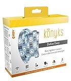 Konyks Dallas EASY, ruban LED connecté Wi-Fi + BLE, 16 millions de couleurs, Longueur 3m, compatible avec Alexa et Google Home, appli iOS et Android en français, aucun hub nécessaire