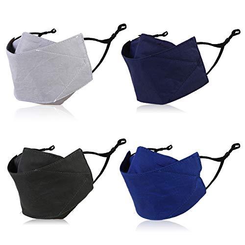 Cloth Reusable Face Mask Men Women Washable Black Lanyard Usa Designs Funny Breathable Adults Pocket Adjustable Mascarillas Balaclava Fashion Costume Glasses Wearer Cover Comfortable