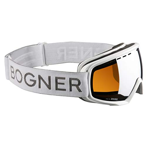 Bogner Snow Goggles Ski-Brille Monochrome | White