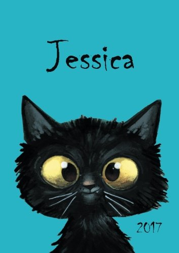Jessica - Katzen-Kalender 2017: DIN A5 - Katze - Wochenkalender