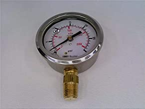 BAUMER ELECTRIC MIT3 D51 HD17 Pressure Gauge 0-30PSI Bottom Connection 1/4IN