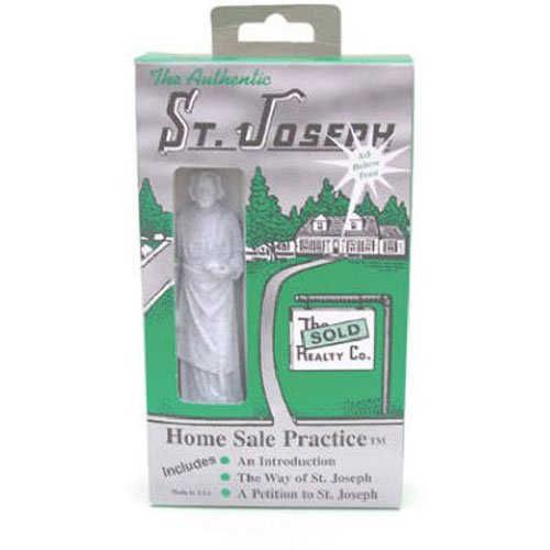 Two Sales 101 Authentic St. Joseph Home Sale Practice, 3-1/2-Inch Tall, Stainless