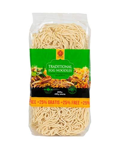 TIGER KHAN Fideos Noodle de huevo 250g (Egg Noodle) - Pack 12