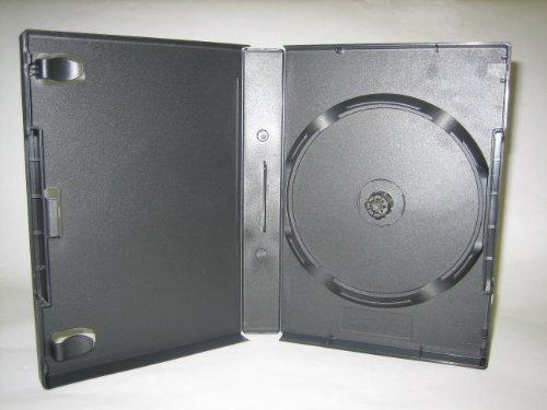 27MM, 8 DISC STACKING HUB DVD CASE, W/ BOOKLET CLIPS, covid 19 (27mm 8 Disc Black Dvd coronavirus)