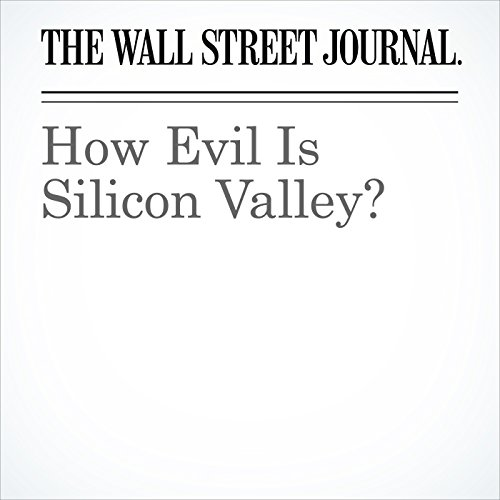 How Evil Is Silicon Valley? copertina