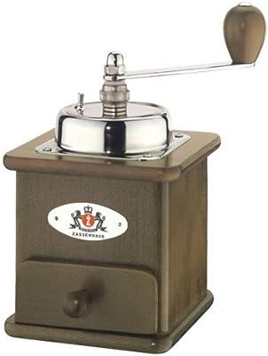 メリタ 手挽き コーヒー ミル ザッセンハウス ブラジリア ダーク MJ-1301/Z